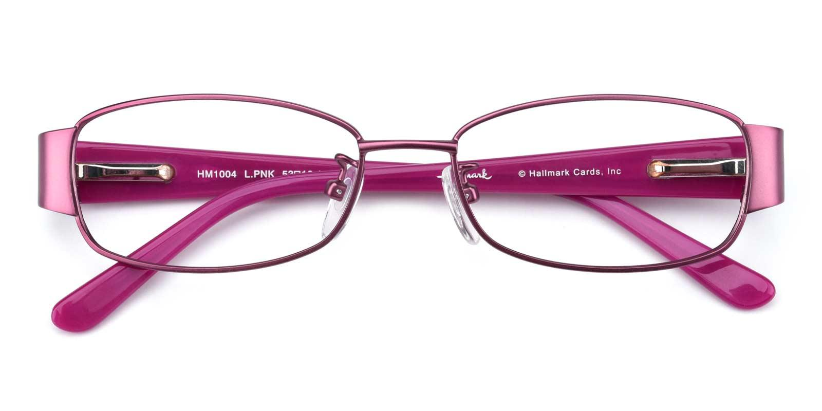 Aaliyah-Purple-Rectangle-Combination-Eyeglasses-detail