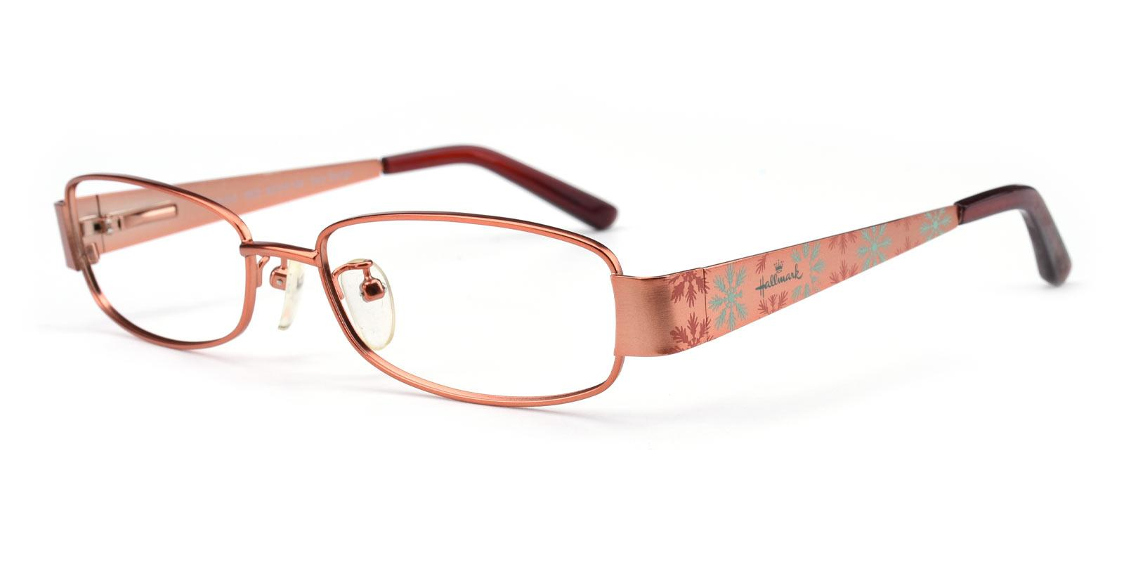 Bonnie-Orange-Rectangle-Combination-Eyeglasses-detail