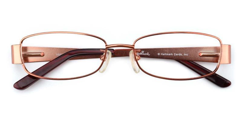Bonnie-Orange-Eyeglasses