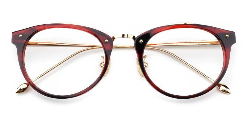Beverly-Red-Eyeglasses