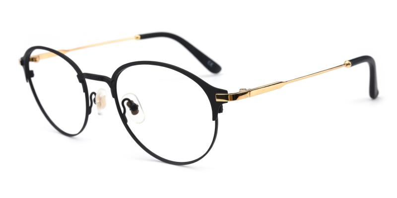 Jean-Black-Eyeglasses