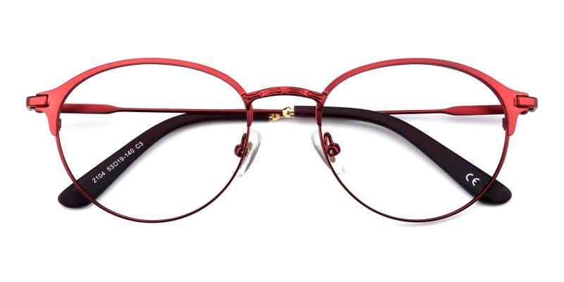 Jean-Red-Eyeglasses