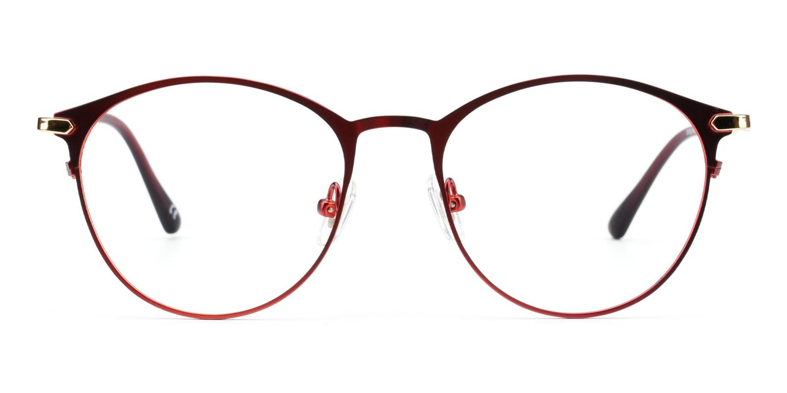Gosse-Red-Oval-Metal-Eyeglasses-additional2