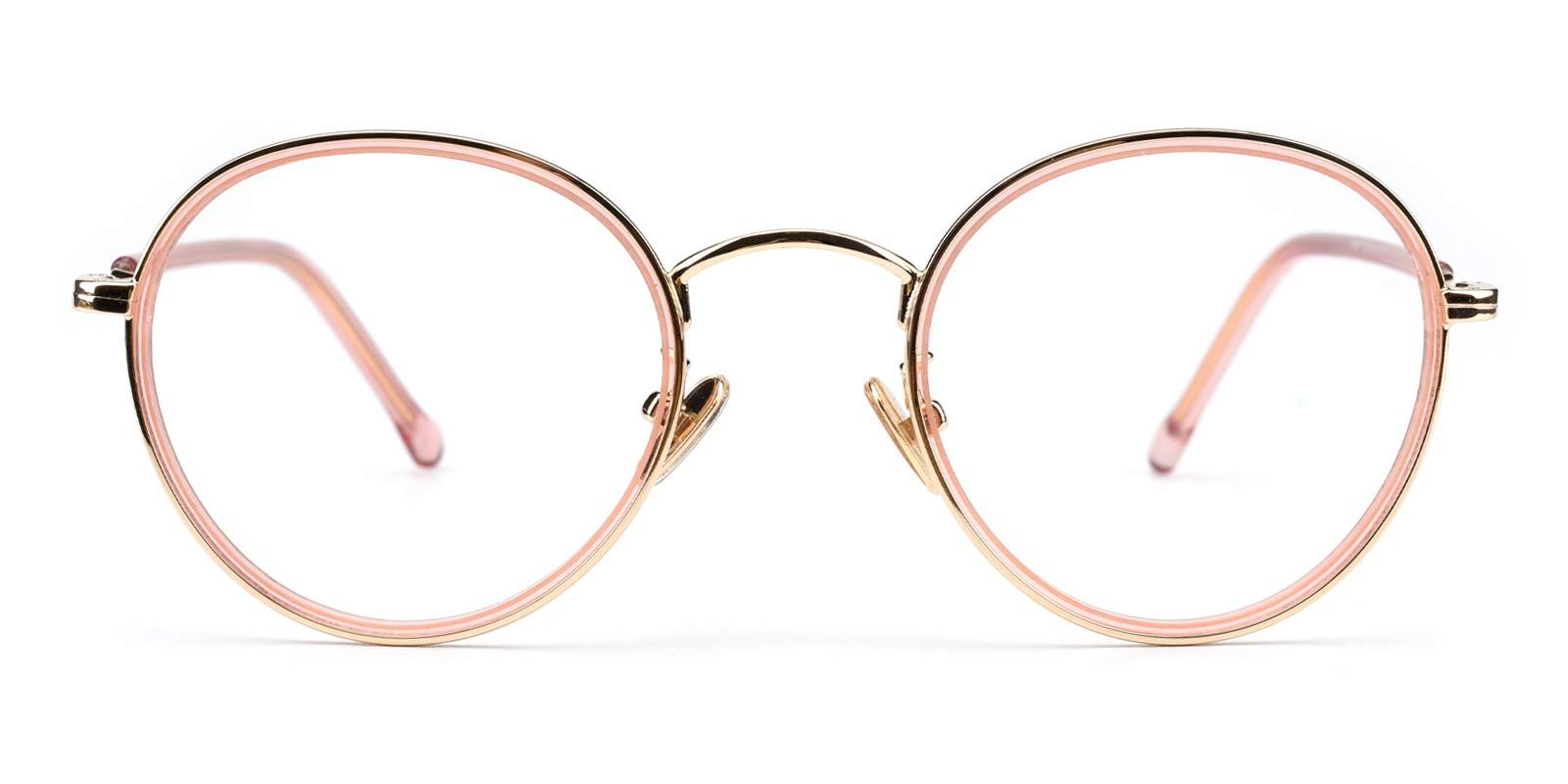 Jenny-Pink-Round-Combination-Eyeglasses-detail