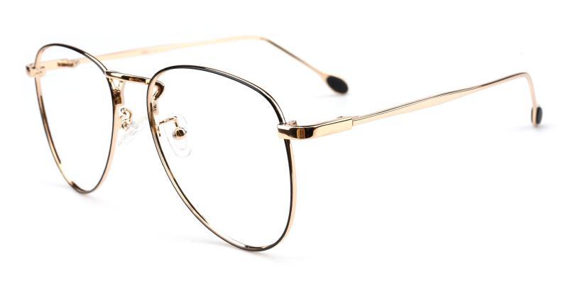Bernice-Gold-Eyeglasses