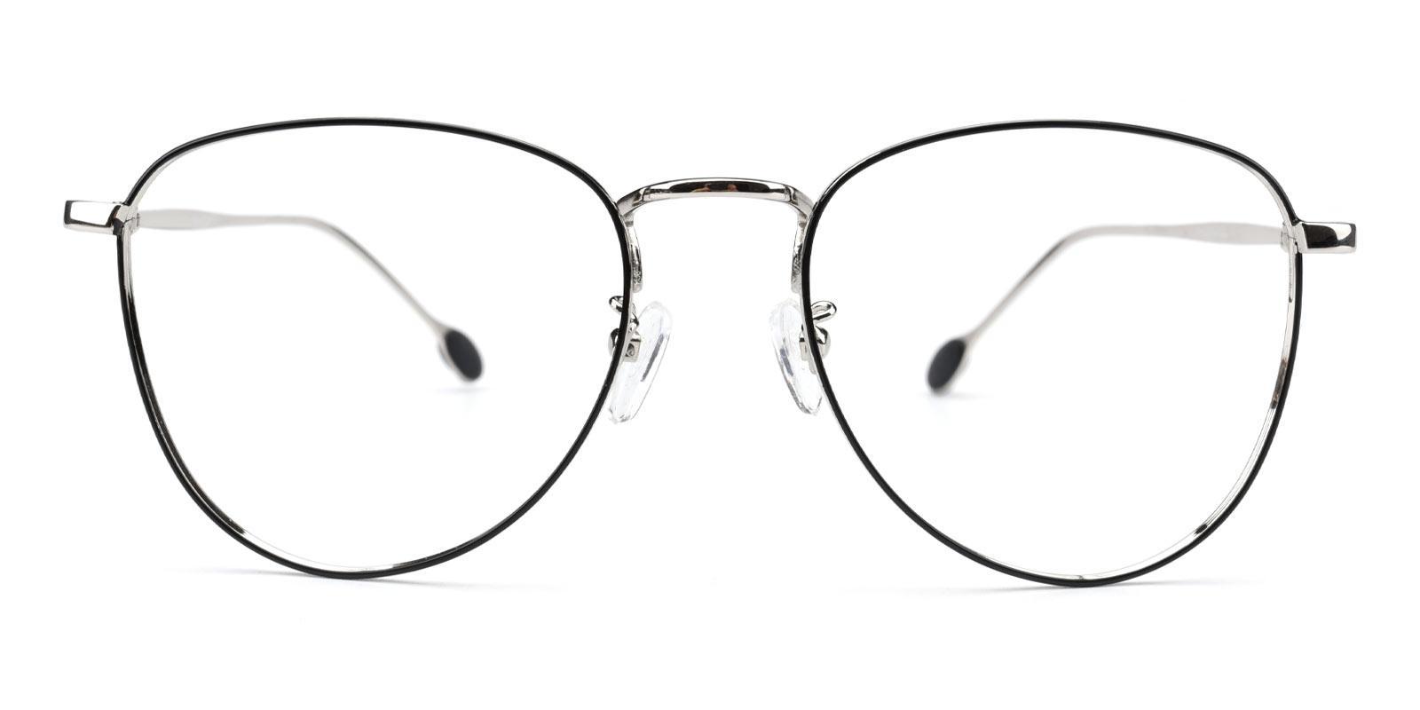 Bernice-Silver-Aviator-Metal-Eyeglasses-detail