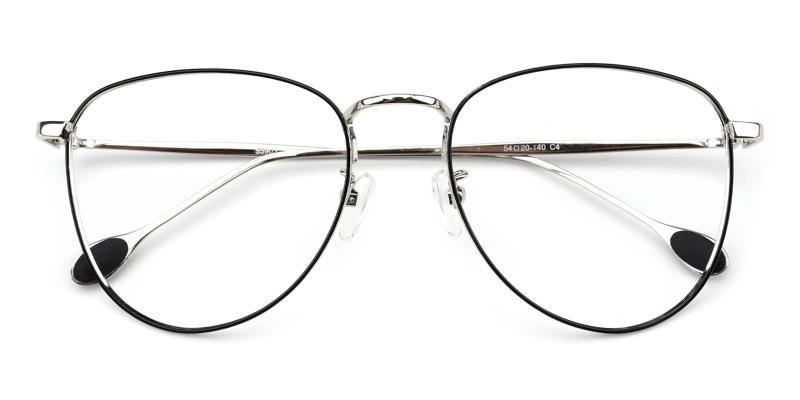 Bernice-Silver-Eyeglasses