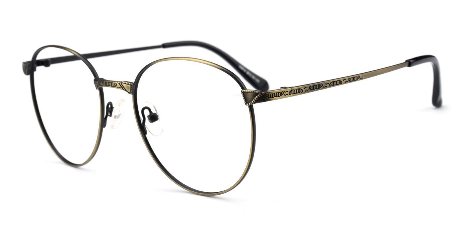 Camp-Gold-Round-Metal-Eyeglasses-detail