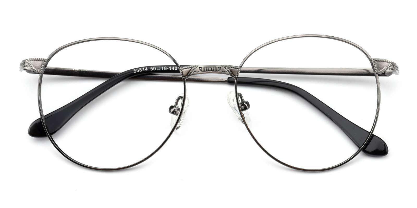 Camp-Gun-Round-Metal-Eyeglasses-detail