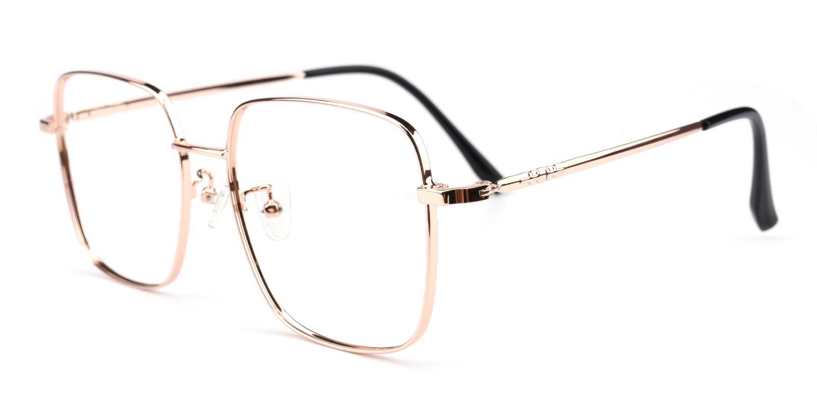 Zack-Pink-Square-Metal-Eyeglasses-detail