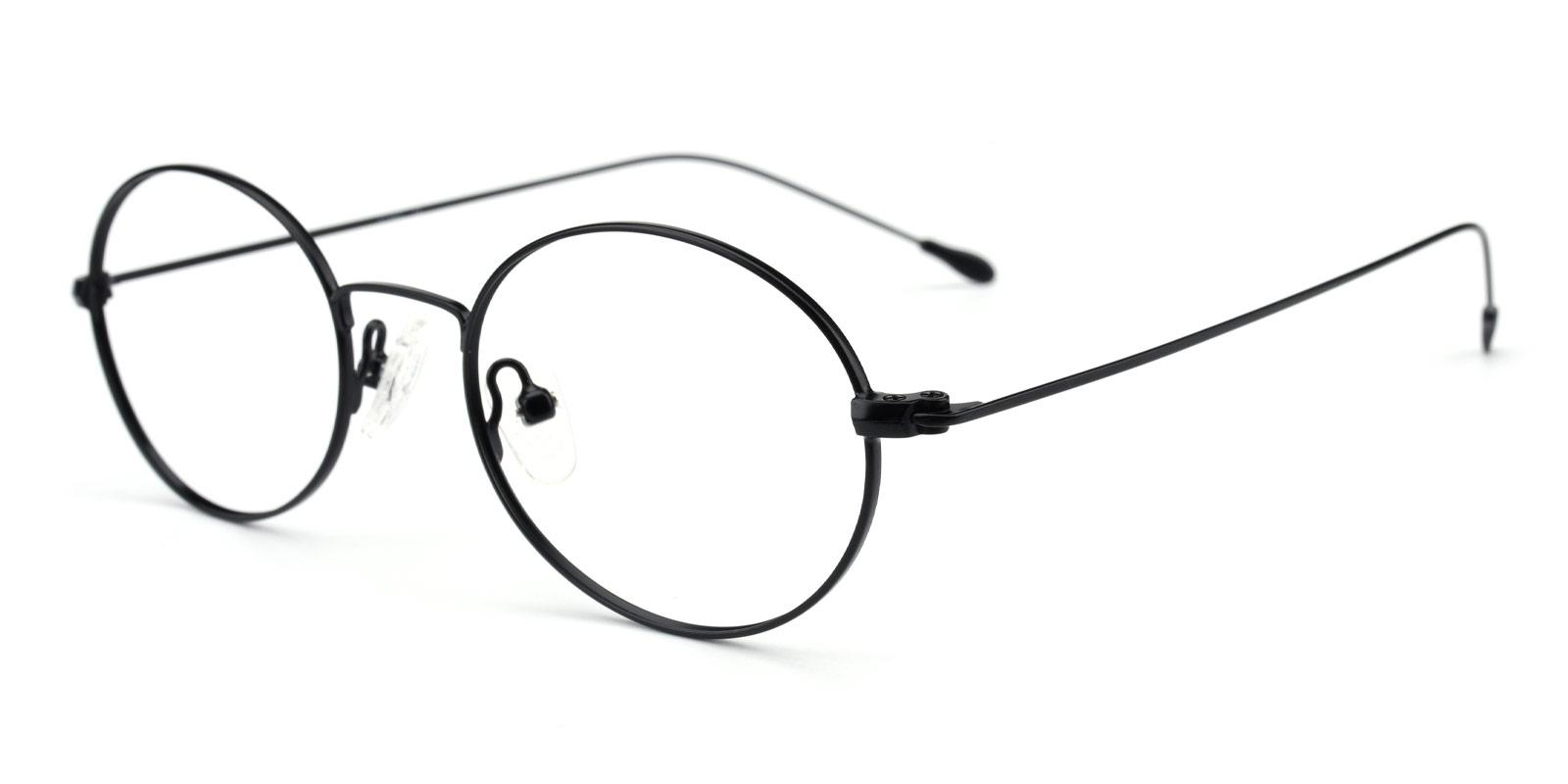 Bertha-Black-Oval-Metal-Eyeglasses-additional1