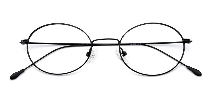 Bertha-Black-Eyeglasses