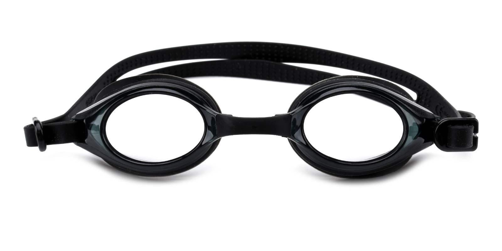 Swimming Goggles-Black-Geometric-Combination-SportsGlasses-detail