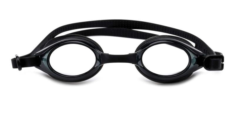 Swimming Goggles-Black-SportsGlasses