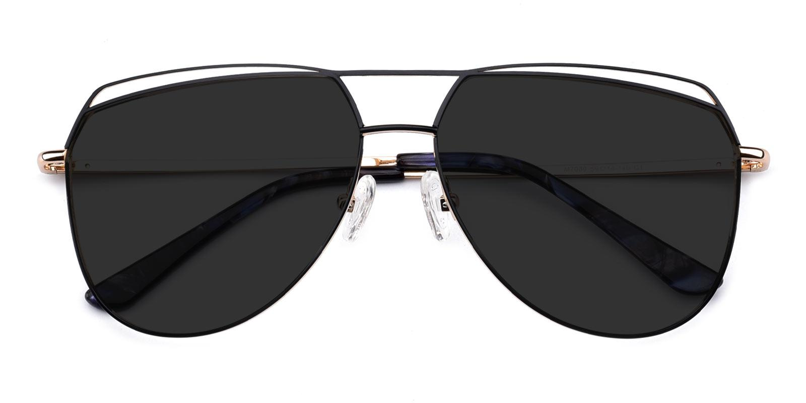 Acto-Black-Aviator-Metal-Sunglasses-detail