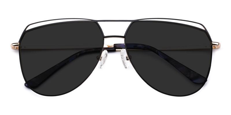 Acto-Black-Sunglasses