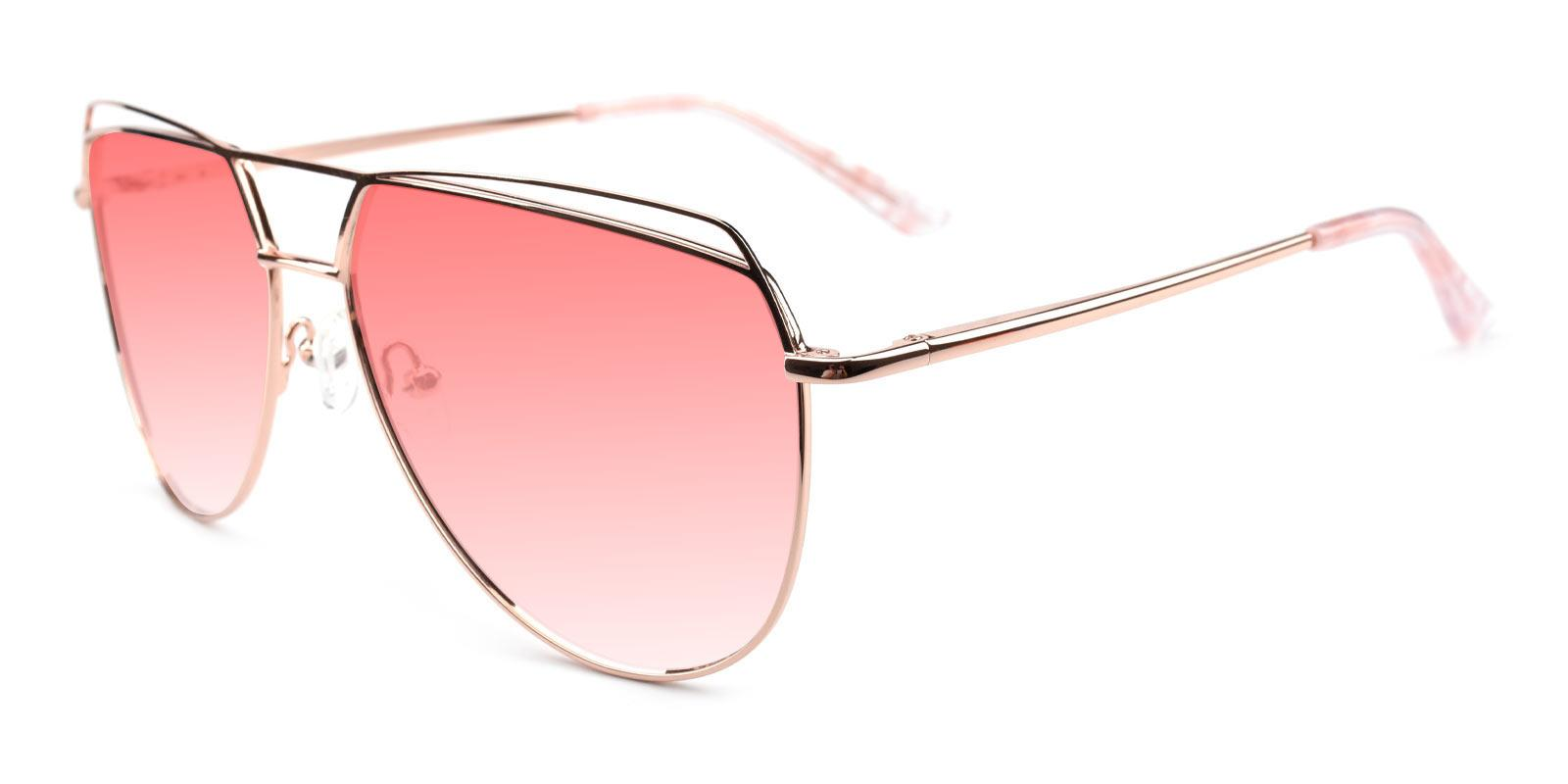 Acto-Pink-Aviator-Metal-Sunglasses-additional1