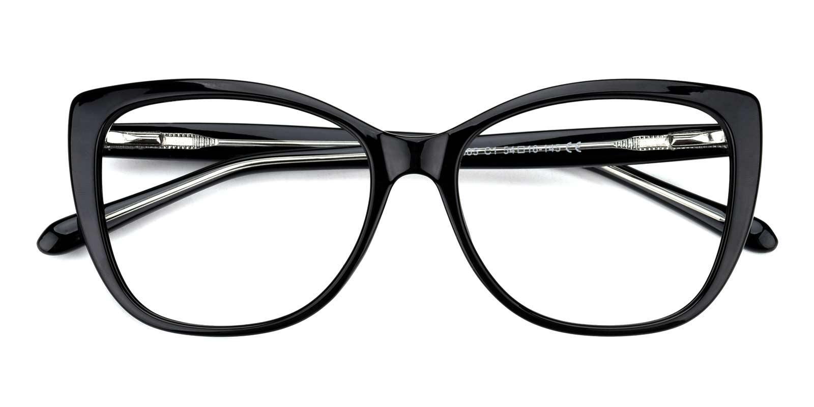 Irene-Black-Cat / Round-TR-Eyeglasses-detail