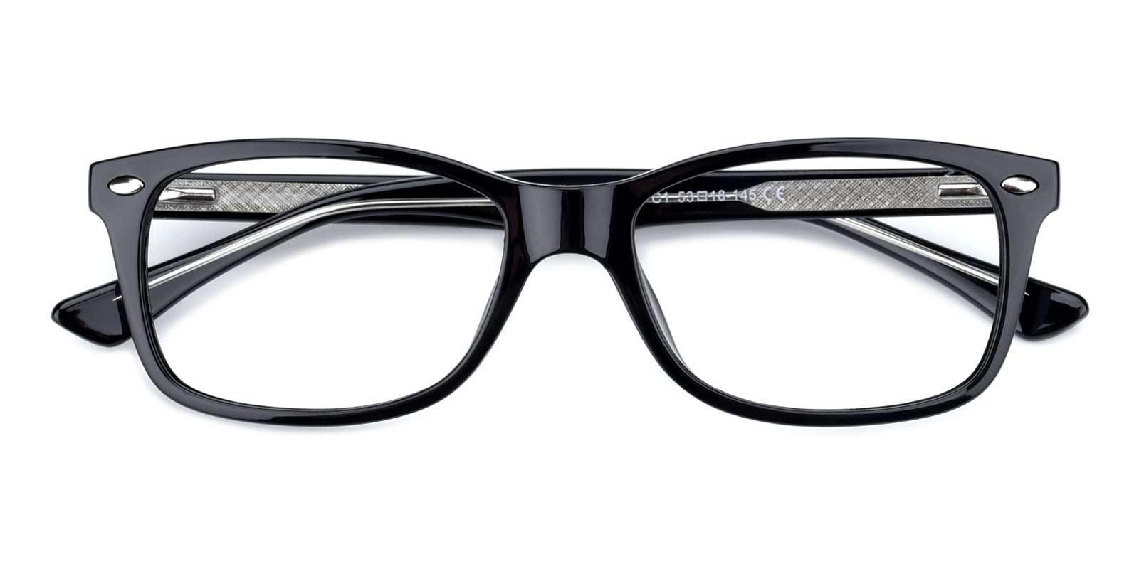 Eve-Black-Rectangle-TR-Eyeglasses-detail