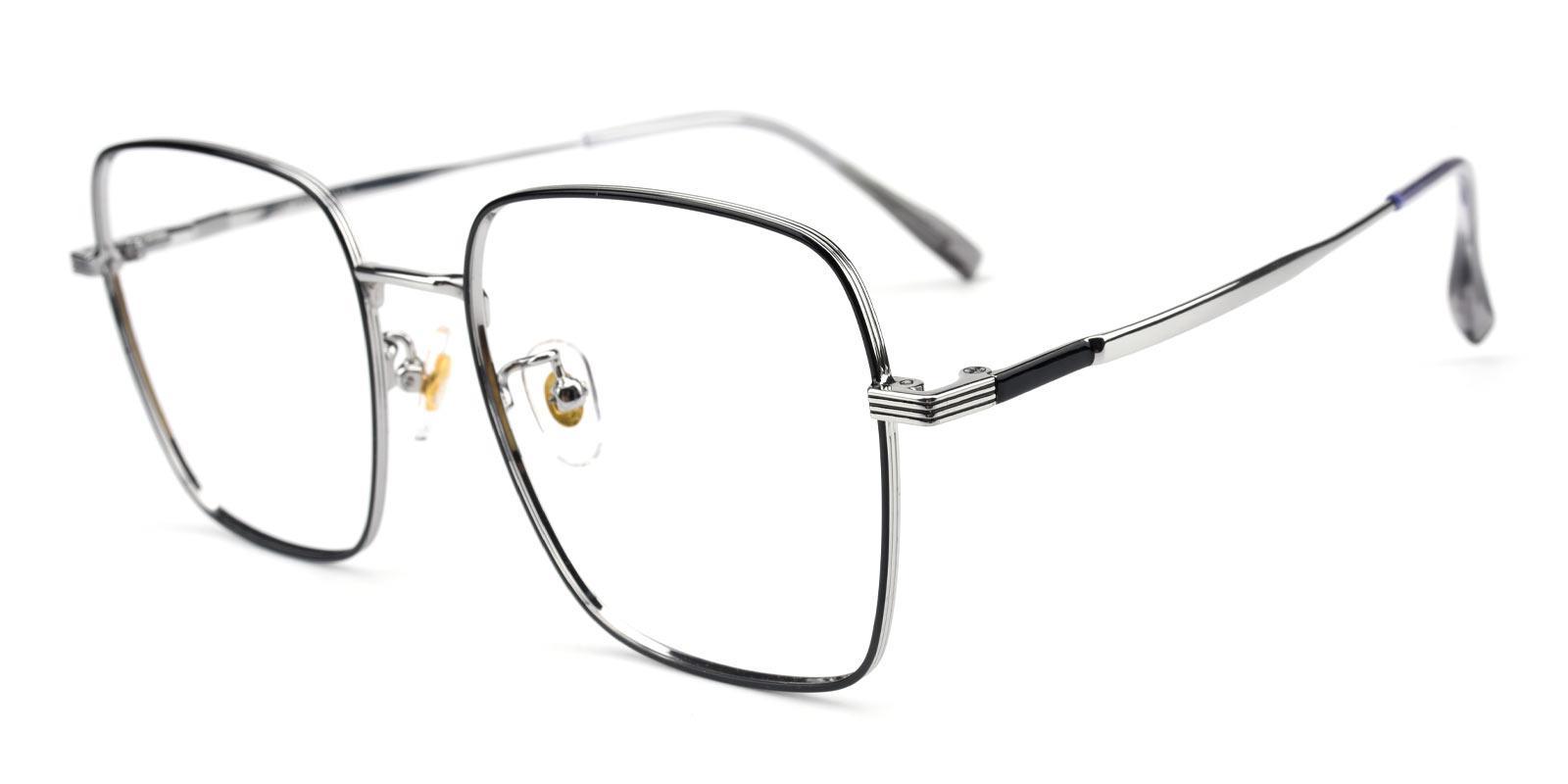 Joa-Black-Square-Titanium-Eyeglasses-additional1