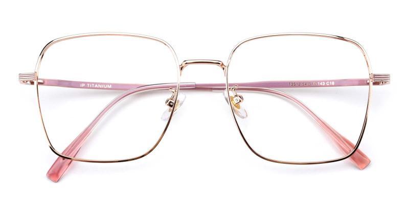 Joa-Pink-Eyeglasses