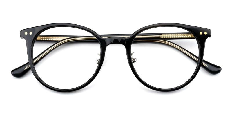 Crystal-Black-Eyeglasses