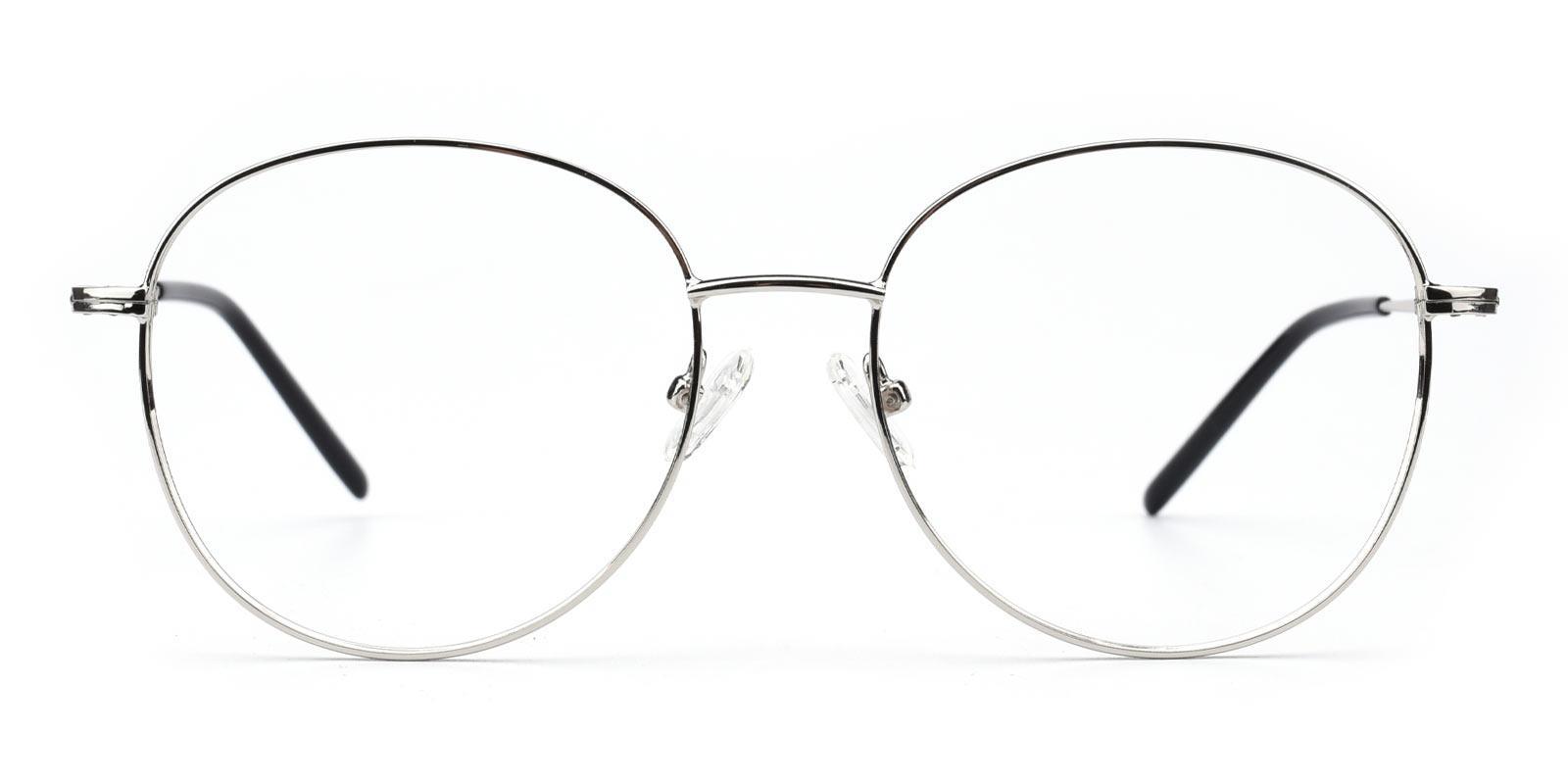 Damla-Silver-Round-Metal-Eyeglasses-additional2