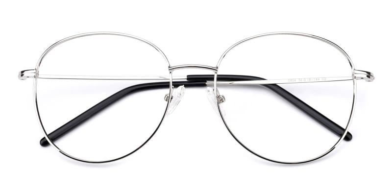 Enid-Silver-Eyeglasses