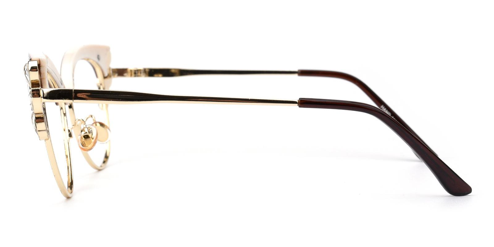 Denise-Brown-Cat-Metal-Eyeglasses-additional3