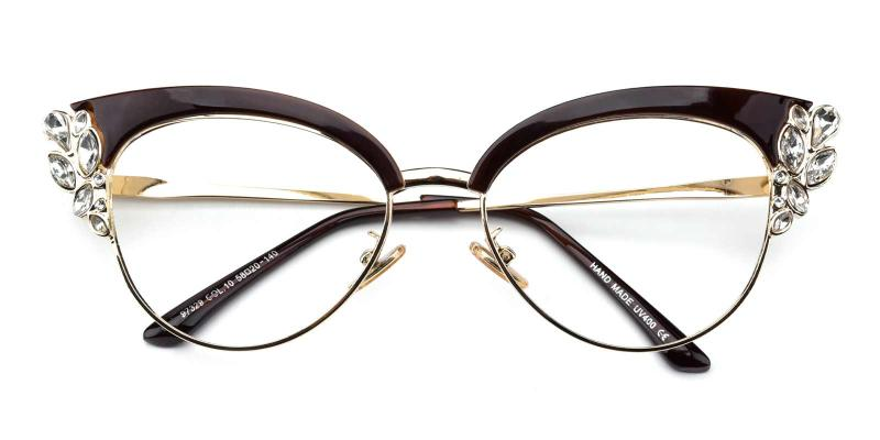 Denise-Brown-Eyeglasses