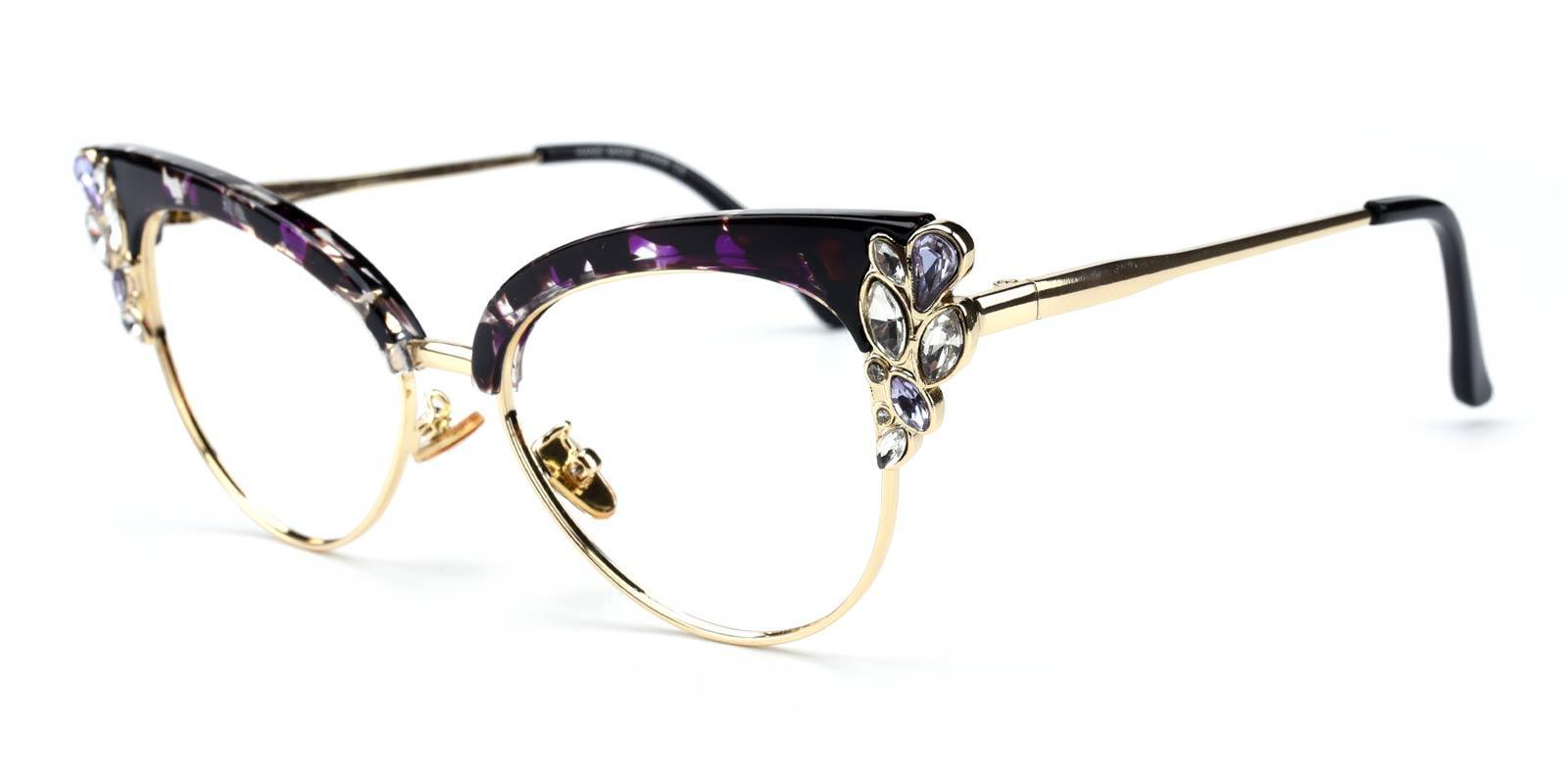 Denise-Purple-Cat-Metal-Eyeglasses-additional1