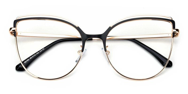 Ethel-Black-Eyeglasses