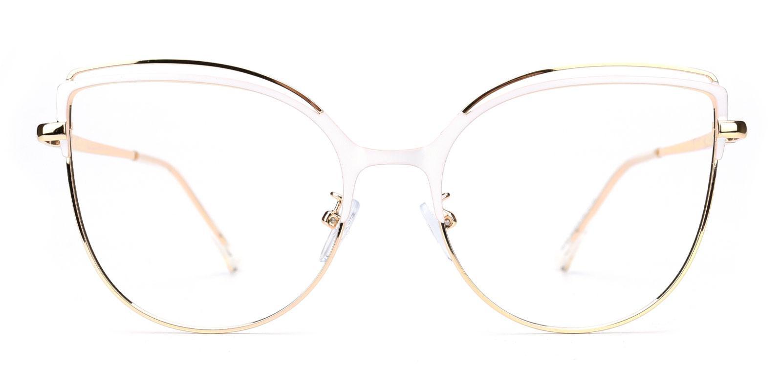 Ethel-White-Cat-Metal-Eyeglasses-additional2