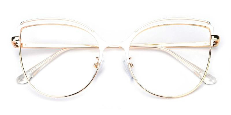 Ethel-White-Eyeglasses