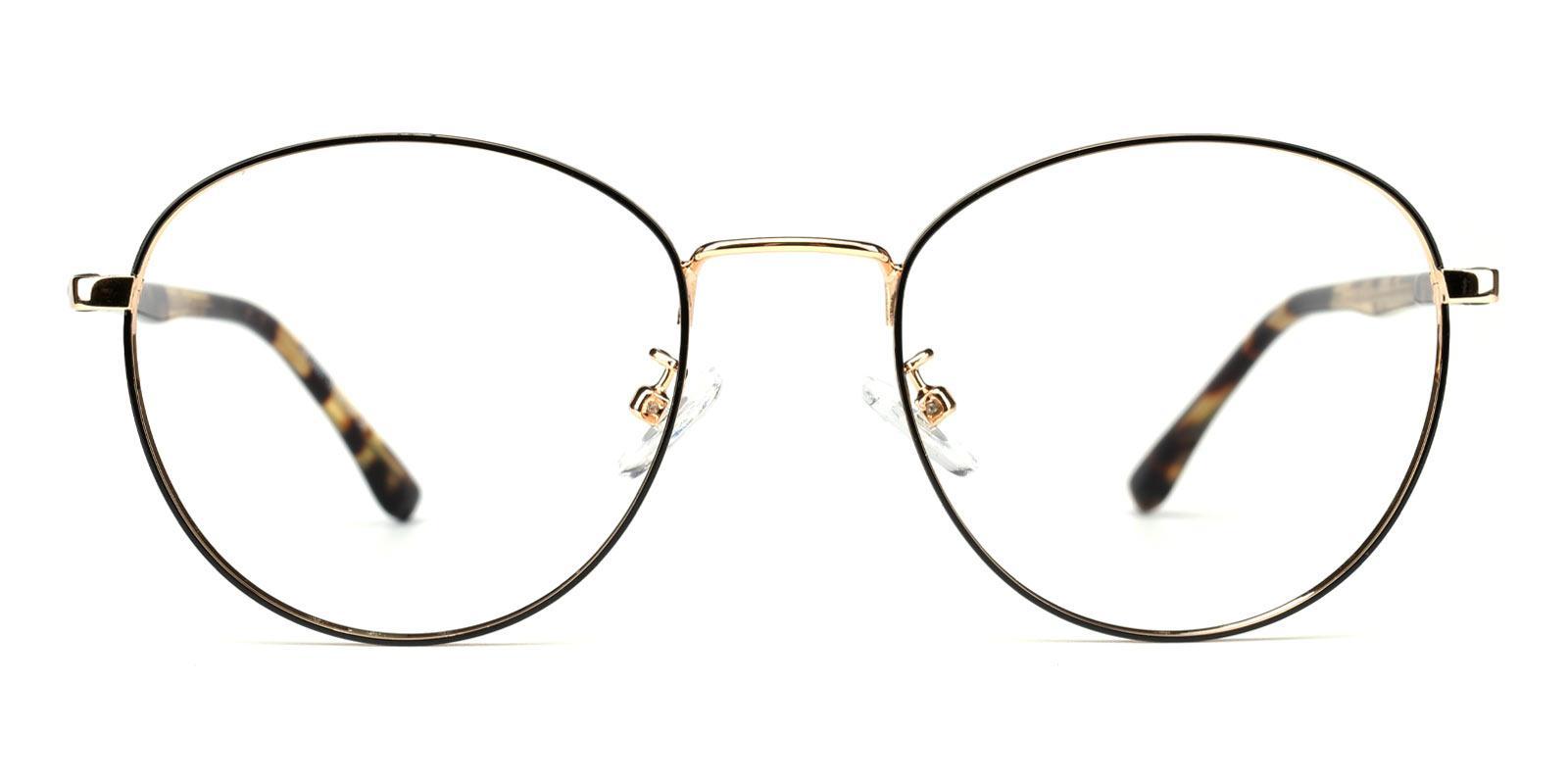 Gemma-Tortoise-Round-Metal-Eyeglasses-detail