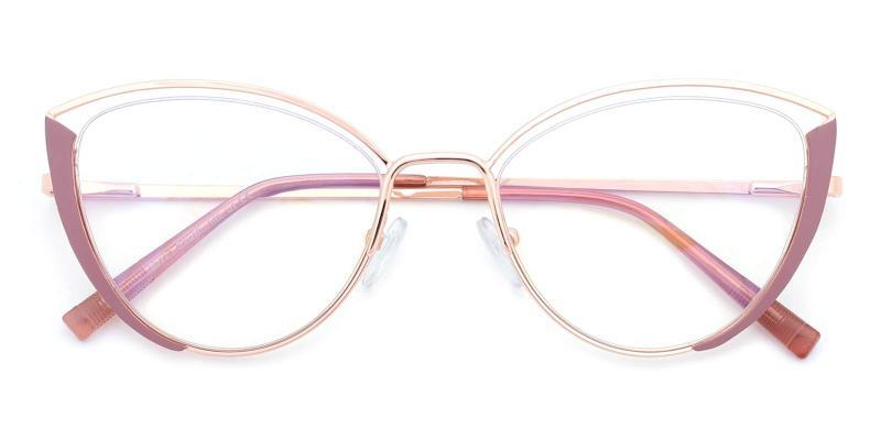 Julie-Pink-Eyeglasses