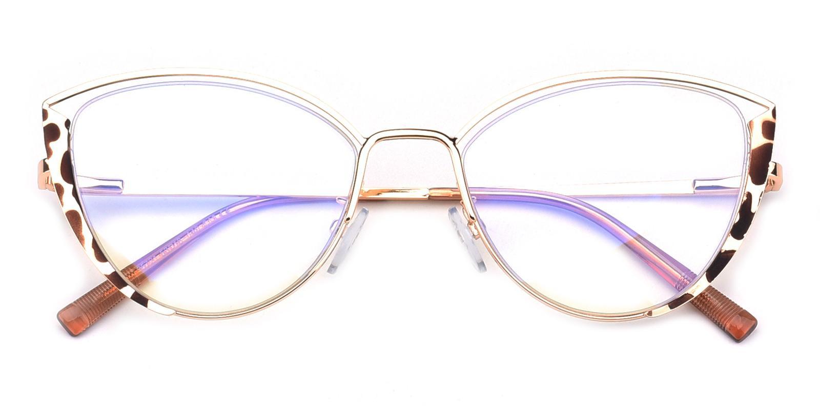 Julie-Tortoise-Cat-Metal-Eyeglasses-detail