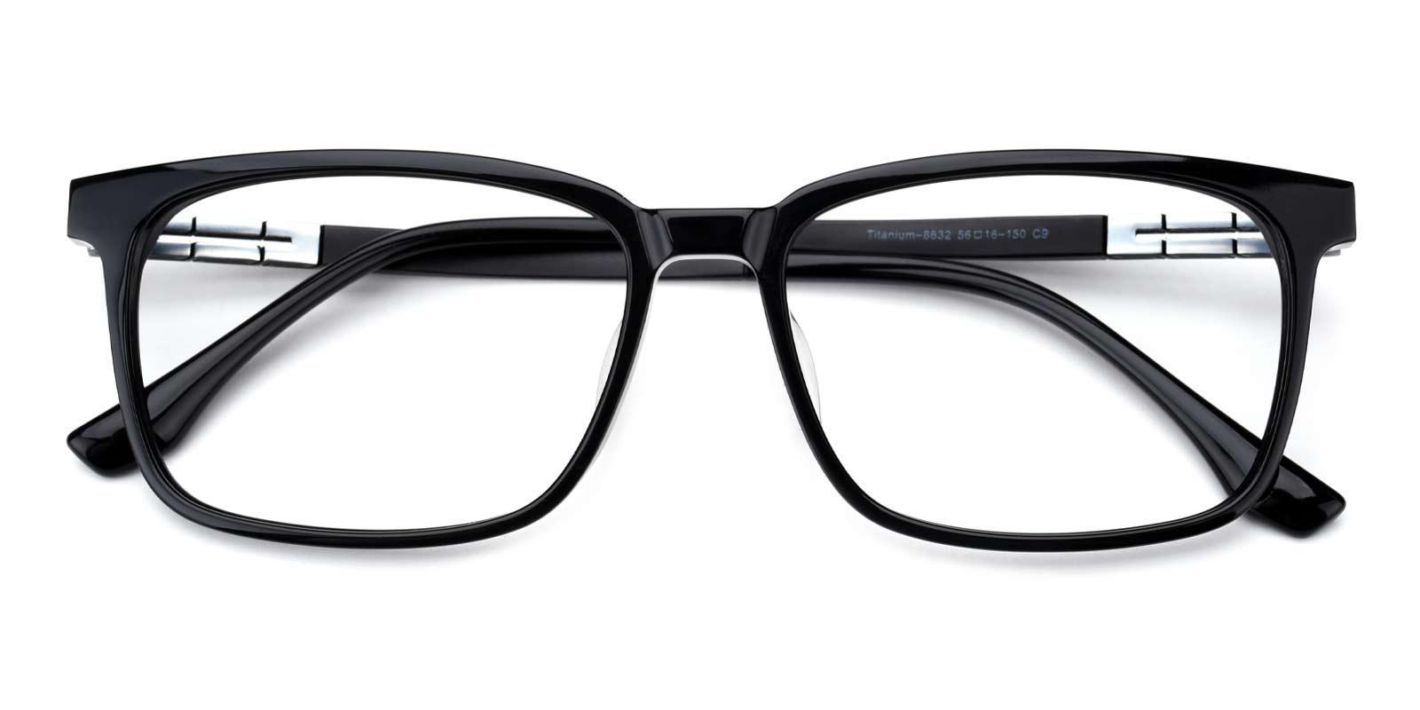Neon Street-Black-Rectangle-Combination / TR-Sunglasses-detail