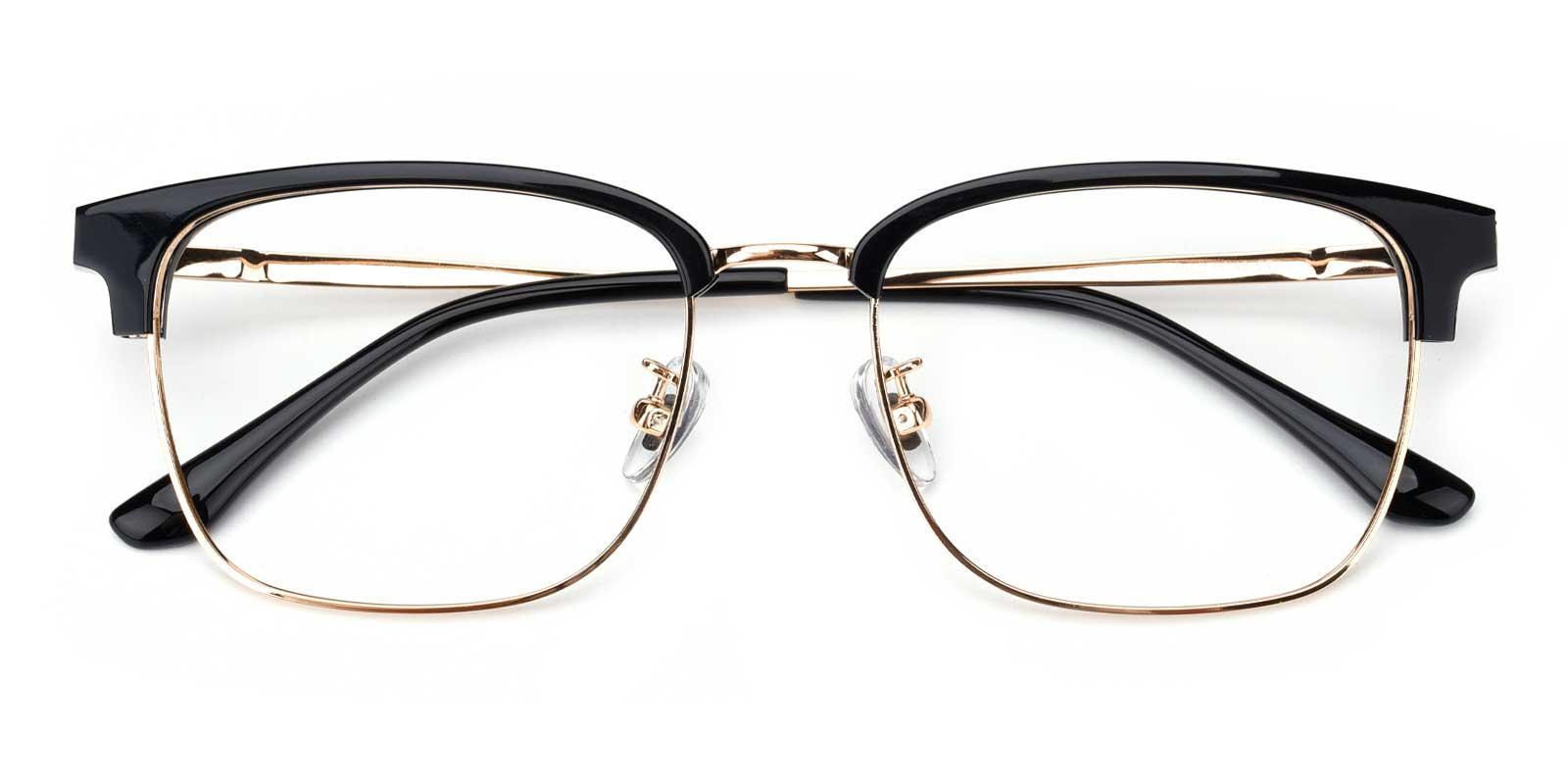 Yuri-Gold-Browline-Titanium-Eyeglasses-detail
