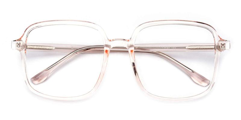 Viola-Orange-Eyeglasses