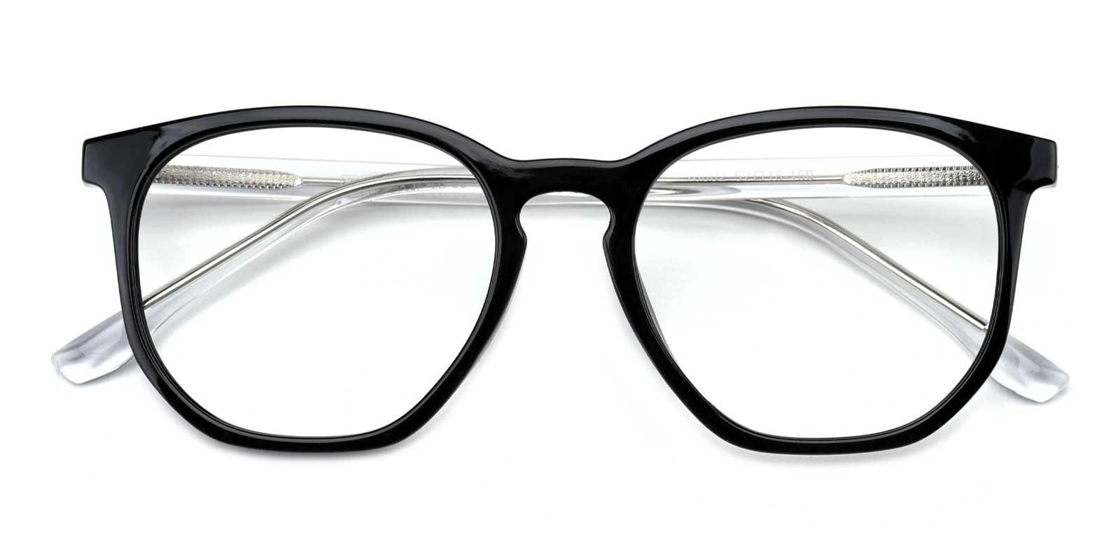 Dominique-Black-Geometric-TR-Eyeglasses-detail