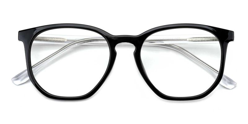 Dominique-Black-Eyeglasses