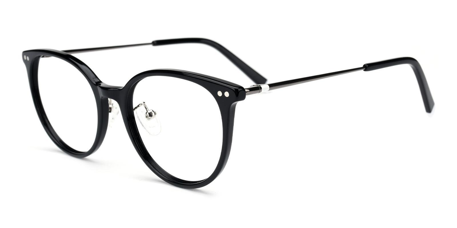 Xenia-Black-Round-TR-Eyeglasses-detail