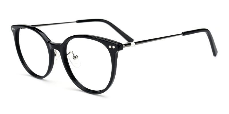 Xenia-Black-Eyeglasses