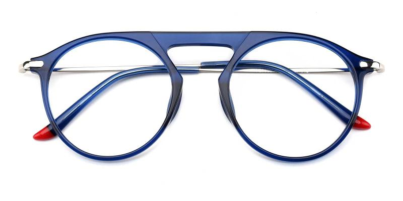 Ellison-Blue-Eyeglasses