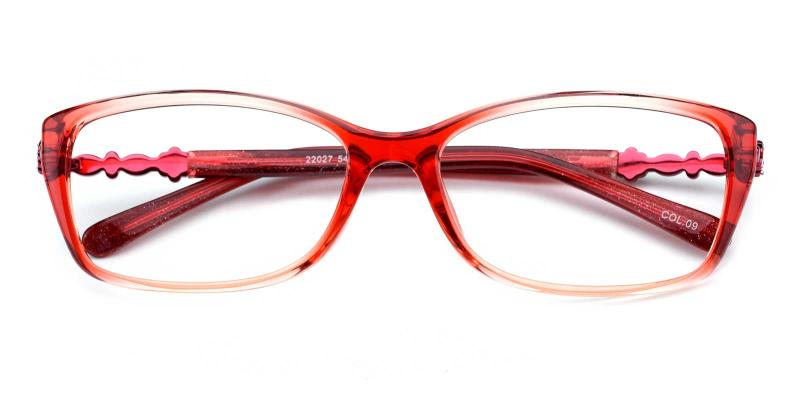 Gladys-Red-Eyeglasses