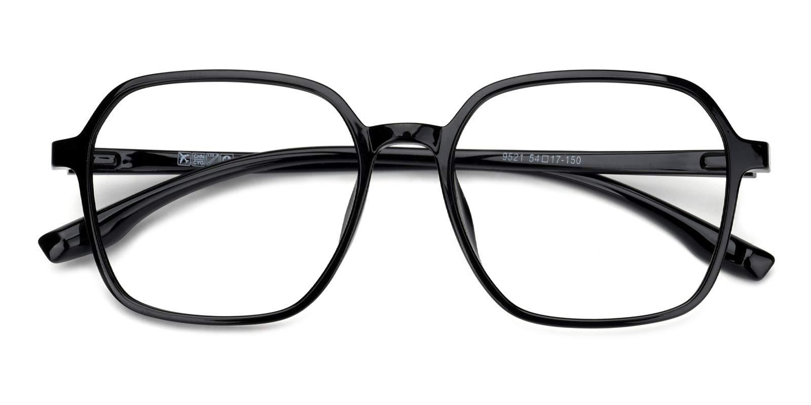 Clay-Black-Geometric-TR-Eyeglasses-detail