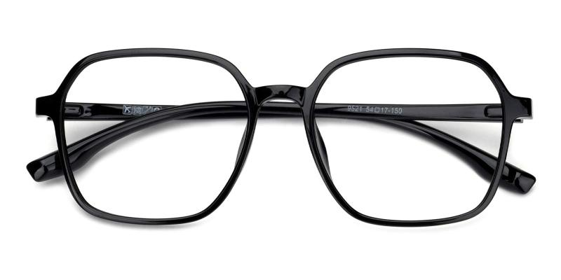 Clay-Black-Eyeglasses
