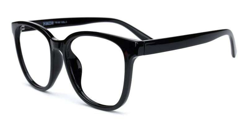 Edgar-Black-Eyeglasses