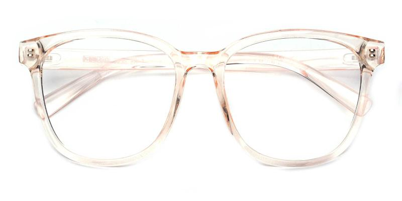 Edgar-Orange-Eyeglasses